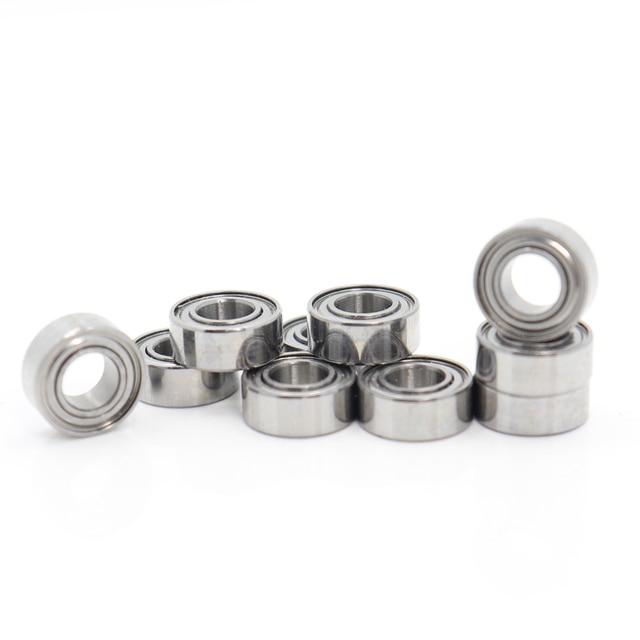 Mr15zz rolamento 5*10*4mm (10 pces) ABEC 5 miniatura mr155 z zz alta precisão mr15z rolamentos de esferas