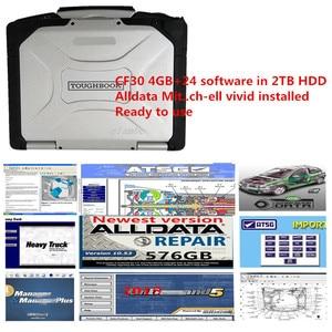 Image 1 - 2020 أحدث جميع البيانات إصلاح السيارات Alldata 10.53 الرسوم البيانية الأسلاك mit // شيل. l حية 24 in2TB HDD تثبيت جيدا لباناسونيك cf30