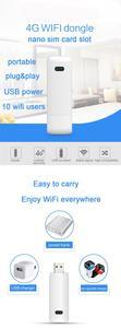 Image 2 - LDW922 3G/4G 와이파이 라우터 모바일 휴대용 무선 LTE USB 모뎀 동글 나노 SIM 카드 슬롯 포켓 핫스팟