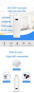 Image 2 - LDW922 3G/4G WiFi роутер мобильный портативный беспроводной LTE USB модем dongle nano SIM карта слот карманный хот спот