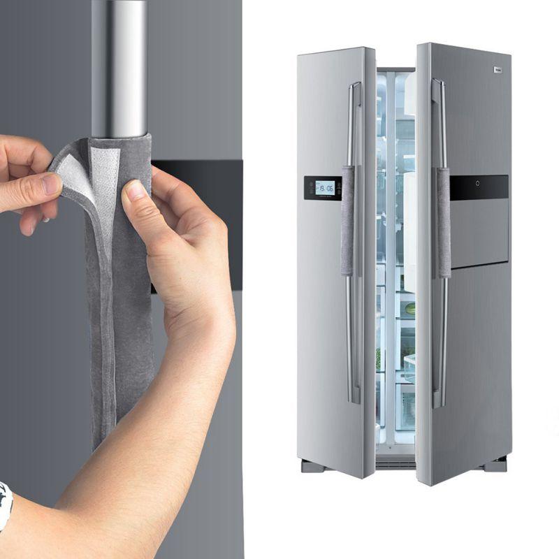 Refrigerator Door Handle Cover Handmade Kitchen Appliance Decor Handles Protector Gloves Home Accessories Pakistan
