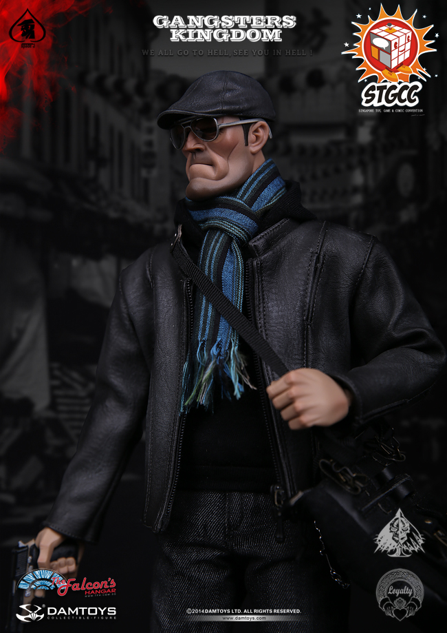 DAMTOYS GK001EX <font><b>Gangsters</b></font> <font><b>Kingdom</b></font> Spade J EXCLUSIVE Special Colour Edition STGCC image