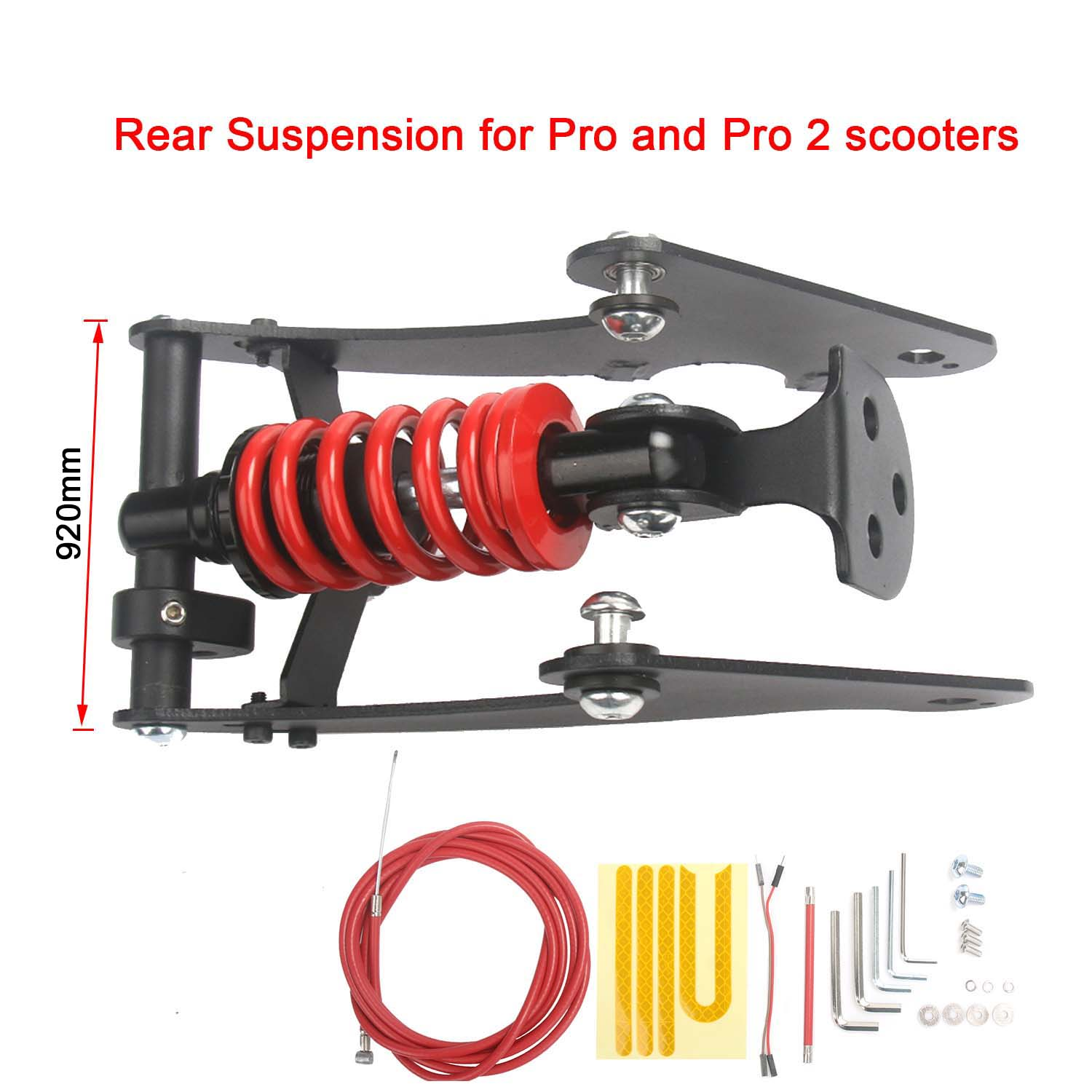 Scooter Accessories Rear Shock Absorber Of Scooter Electric Scooters Scooter Accessories For Electric Scooters M365 PRO1 PRO2