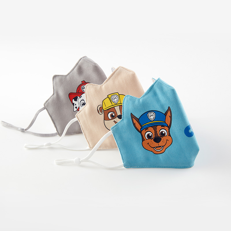 2020 NEW Paw Patrol Half Muffle Face Mask Children Kids Cottons Dustproof Cartoon Girl Boy Paw Patrol Mouth Masks Mouth For Gift