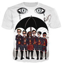TV Series The Umbrella Academy Group Men/women New Fashion Cool 3D Printed T-shirts Casual Style T-shirt