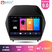 Ekiy 9'' IPS Android 9.0 Not 2 Din Car Multimedia Player AutoRadio Stereo For Hyundai IX35 2010 2015 GPS Navigation MP3 MP4 MP5