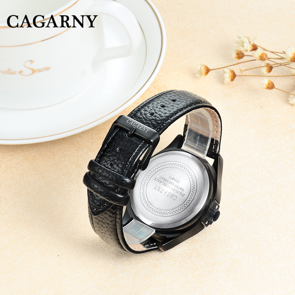 drop shipping cagarny women watches high quality wristwatches auto date waterproof free shipping ladies clock female 2020 gifts (24)