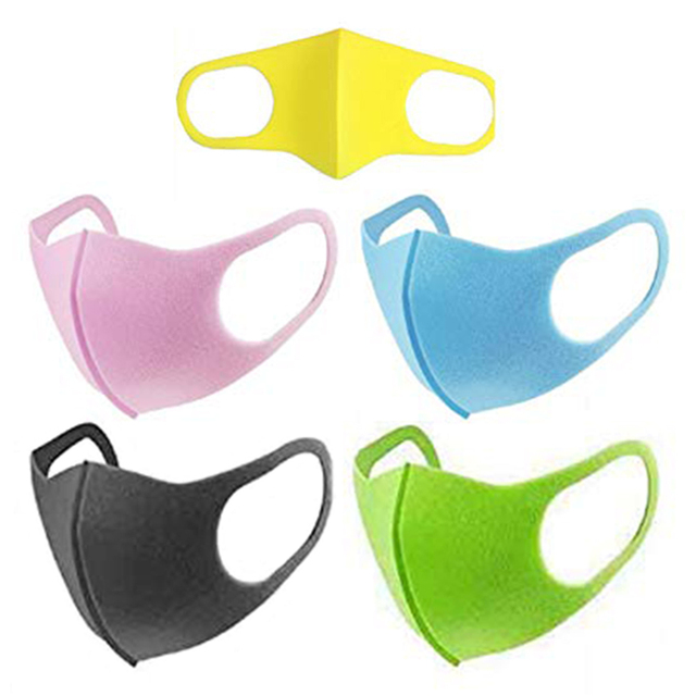 1pcs Children Face Masks PM2.5 For Kids Anti Dustproof Smoke Pollution Masks with Earloop Washable Respirator Mouth Cover 3