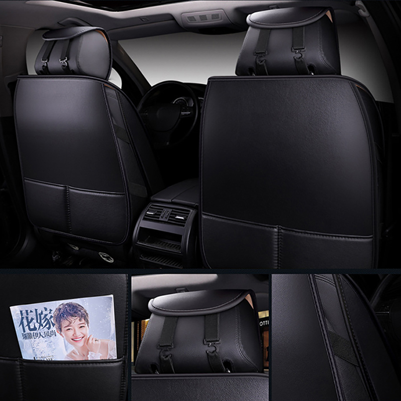 Высокое качество, кожаный чехол для автомобиля Geely Atlas Emgrand X7 EC7 GX FE1 mk, все модели, защита для автокресла, автомобильные аксессуары - 5
