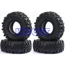 "4 pces 1.9 ""super swamper rochas pneus de pneus 7035 para rc 1/10 escalada rock crawler"