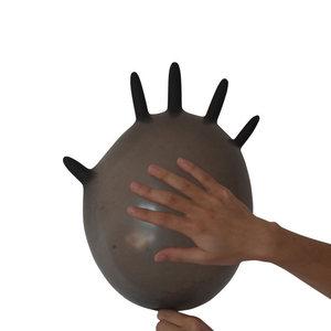 Image 2 - 100 יח\קופסא Nitrile כפפות עמיד למים חד פעמי עבור קעקוע רופא שיניים מזון תהליך ניקוי ידיים הגנה לעבוד כפפות