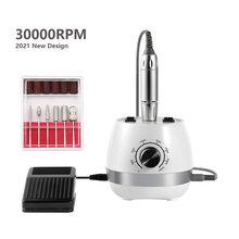 Новый 30000 об/мин электрический Фрезер для ногтей сверлильный