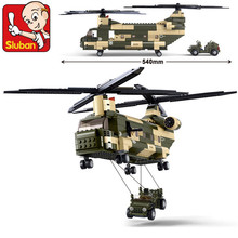 Military Air Force Transport Helicopter Building Blocks ARMY Soldiers Black Hawk Bricks LegoINGLs Technic Toys Christmas Gifts bela 8031 military thunder air force chinook creative technic building block set bricks kits toys children gifts