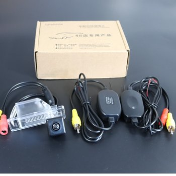 Wireless Camera For Nissan Sunny Sentra 180 Bluebird Sylphy Cefiro Pulsar Car Rear view Back up Reverse Camera CCD Night Vision image