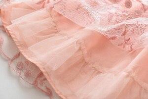 Image 5 - אהבה DD & MM בנות שמלות 2020 קיץ ילדים חדשים ללבוש בנות רשת מתוק פרח נסיכת שמלה