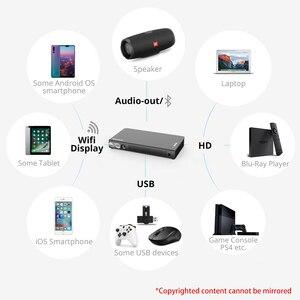 P12 BYINTEK 2020 новейший умный 3D проектор, Full HD 4K 5g Wi-Fi Android Pico портативный Микро Мини светодиодный DLP проектор для Iphone 11