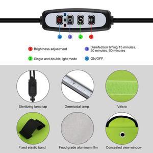 Image 4 - PULUZ UV Light Germicidal Sterilizer Disinfection Tent Box for Mobile Phone Tablet Sterilizer Storage Box