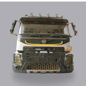 Image 3 - Rc Speelgoed Model Auto S Body Shell Cab Sets Fit Voor 1/14 Schaal Afstandsbediening Speelgoed Vrachtwagen Tamiya Tractor Trailer Scania benz MAN Volvo