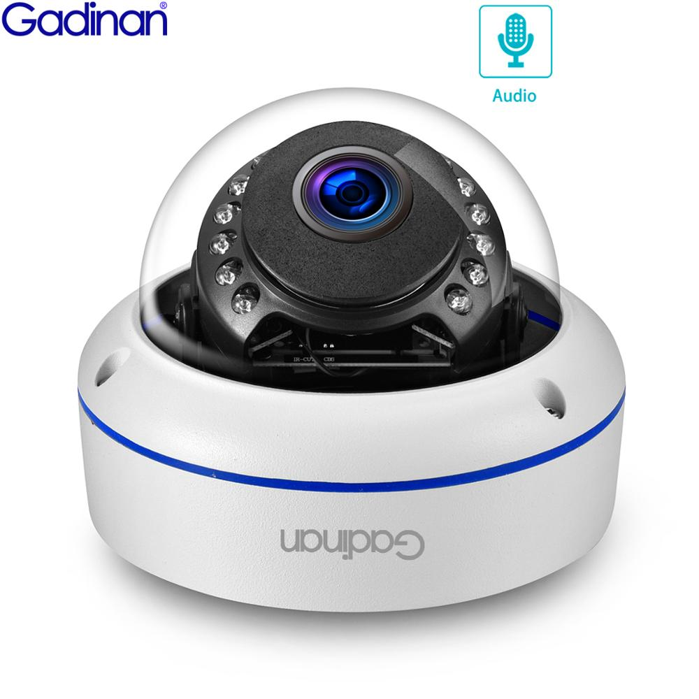 Gadinan H.265 SONY IMX335 5MP 4MP IP Camera 48V POE Dome Audio Record Outdoor VandalProof CCTV Security Video Surveillance Cam