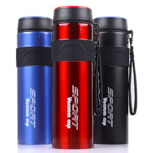 Outdoor Household Thermos Cup Cold Water Cup Stainless Steel Travel Kettle 1000ML Travel Cup Large Insulated Bottle цена и фото