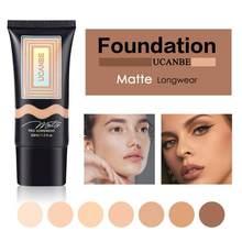 Mat vakfı sıvı kapatıcı izolasyon ömürlü parlatıcı cilt besleyici yüz makyaj kozmetik Maquillaje TSLM1