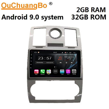 Ouchuangbo auto radio recorder for Chrysler 300C PT Cruiser Commander Durango with android 9.0 gps 2GB+32GB ROM