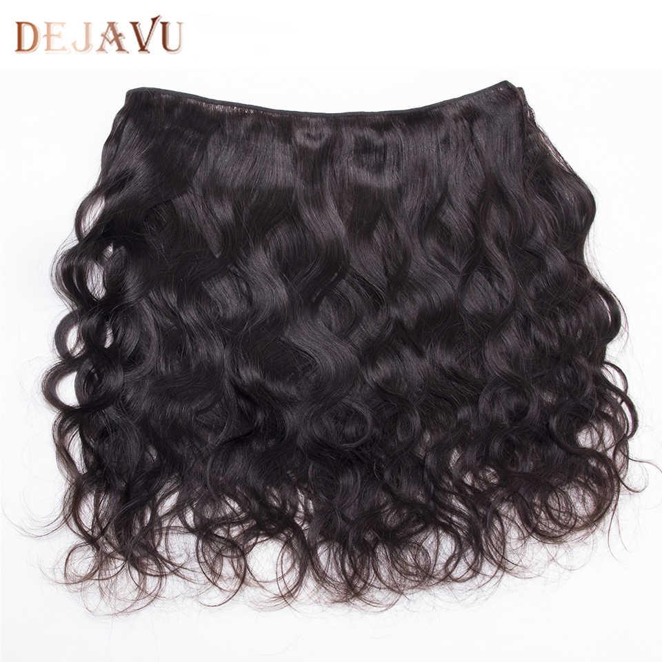 Dejavu Body Wave Bundels Niet-Remy 4 Menselijk Haar Bundels 8-28 Inch Braziliaanse Haar Weave Bundels Natuurlijke kleur Haarverlenging Cabelo