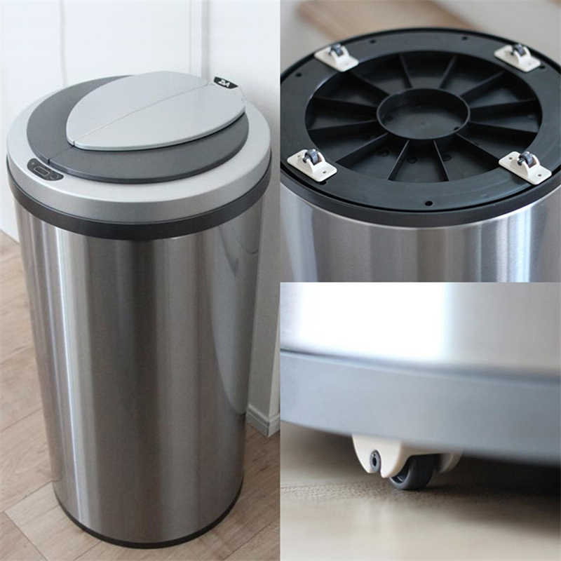 Max Load 8KG Moving Carton Cloth Bin 8 Baby Toys Car Container LukLoy Adhesive Caster Wheels for Furniture Storage Box
