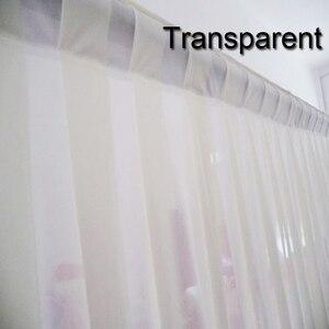 Image 3 - Свадебные Декорации занавески Вечерние Декорации под заказ для сцены Прозрачные шелковые драпированные украшения для сцены вечерние занавески