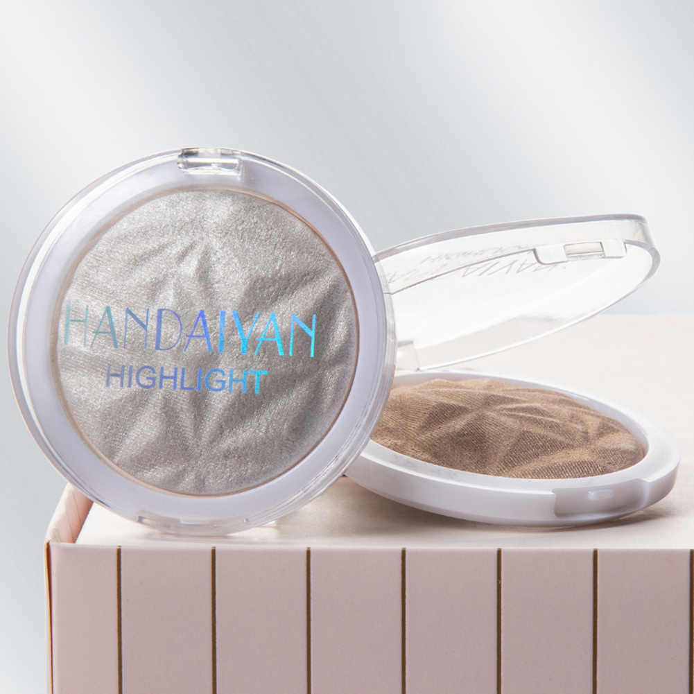 Shiny Gloss Tinggi Baking Powder Minyak Kontrol Mencerahkan Wajah Concealer Makeup Panggang Serbuk Bubuk Kosmetik