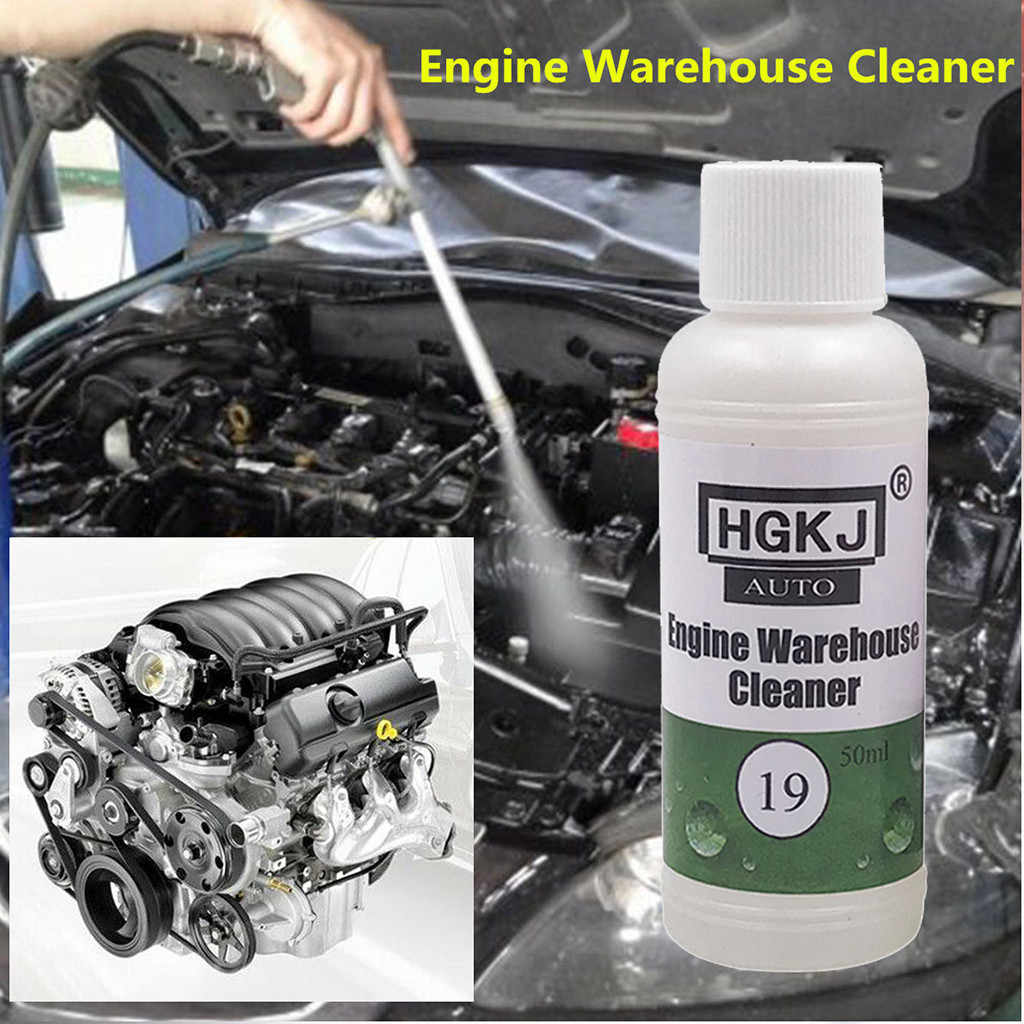 Automotive Engine Compartment Cleaner Removal Heavy Oil Vehicle Decontamination Cleaning Kit Efficient And Cost Effective