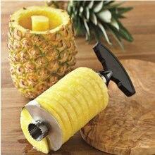 Nova chegada, abacaxi slicer descascador cortador parer faca de aço inoxidável cozinha ferramentas frutas cozinhar ferramentas frete grátis