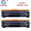 Цветные чернила для hp CF244A 44A тонер-картридж для hp LaserJet Pro M15 M15a M15w M28 M28a M28w принтер черные Картриджи