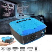 U20 mini palm projector USB HDMI AV video projector home the