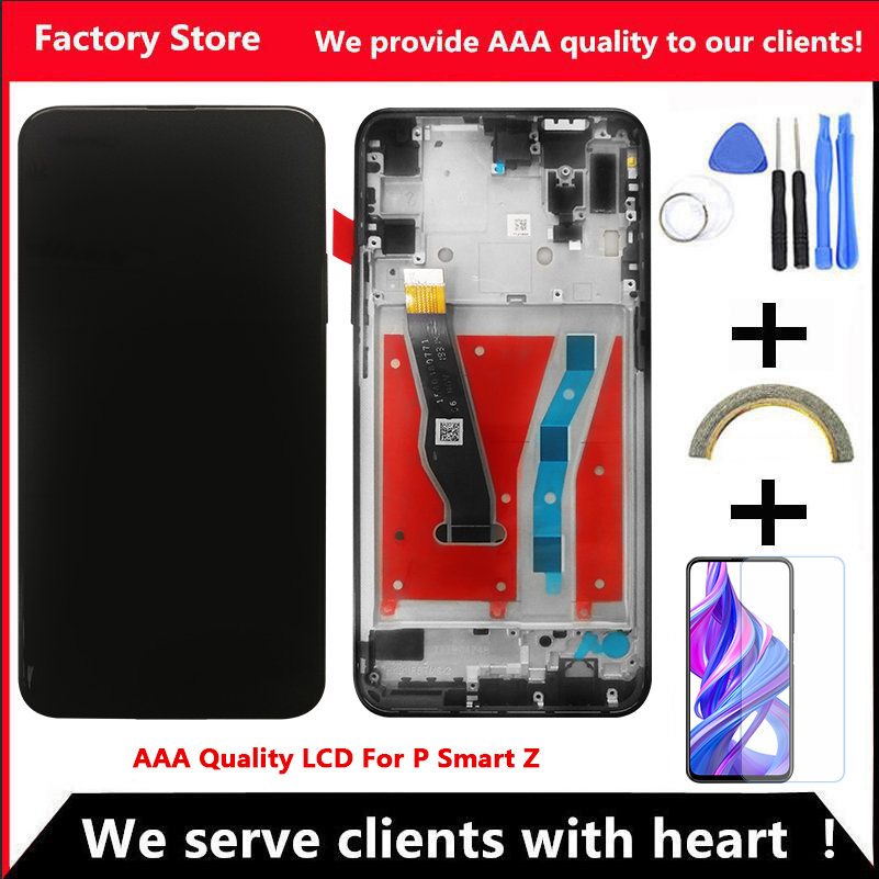 10 Touch Original LCD For Huawei P Smart Z LCD Display Screen For Huawei P Smart Z Screen LCD STK LX1 STK LX2 STK L01 STK L21-in Mobile Phone LCD Screens from Cellphones & Telecommunications