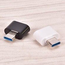 Usb fêmea para USB-C tipo c 3.1 otg adaptador de dados masculino para samsung s8 lg g6 g5 v20 oneplus 2 3 huawei p9 p10 plus