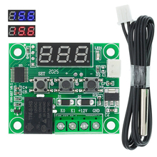 1PCS W1209 DC 12V חום מגניב טמפ מתג בקרת טמפרטורת בקר טמפרטורת מדחום thermo בקר