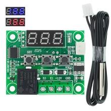 50 шт., W1209, 12 В постоянного тока, фотоэлемент управления температурой термостата, фотоэлемент термометра, термоконтроллер