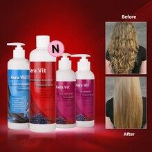 цена на Hair Roots Treatment 5% Formalin 500ml Brazilian Keratin Hair Straightening Cream Hair Treatment Repair Damage Products