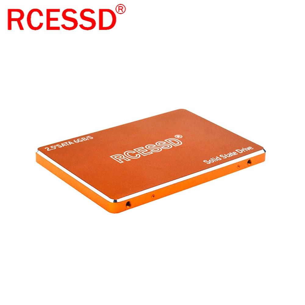 """RCESSD Metal ssd SATA 240gb 120GB 256GB 480GB 1TB Solid State Drive Internal Hard Disk hdd for Laptop Desktop 2.5 """" Internal SSD"""