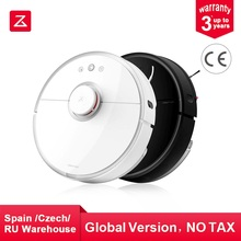 Original Roborock S50 55 Robot Vacuum Cleaner for Home Automatic Sweeping Dust Sterilize Smart Planned Washing Mopping