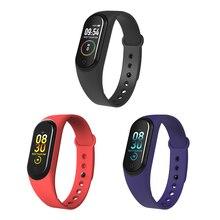 Smart Band Sport Fitness Tracker M4 Heart Rate Monitor Bracelet Calories Waterproof IP67 4 Watch Men Women