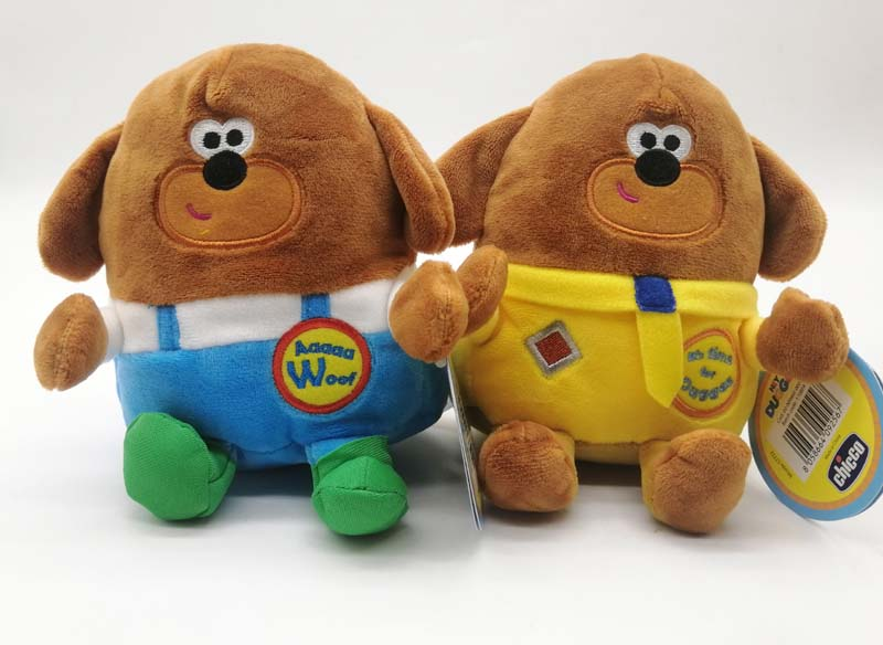 HEY DUGGEE CHARACTER CUDDLY SOFT ANIMAL PLUSH TOY 15cm NEW