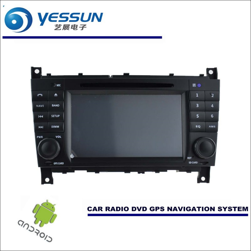 YESSUN Car Android Navigation System For Mercedes <font><b>Benz</b></font> C Class <font><b>W203</b></font> 2004~2007 <font><b>Radio</b></font> Stereo CD DVD Player GPS <font><b>Navi</b></font> BT Multimedia image