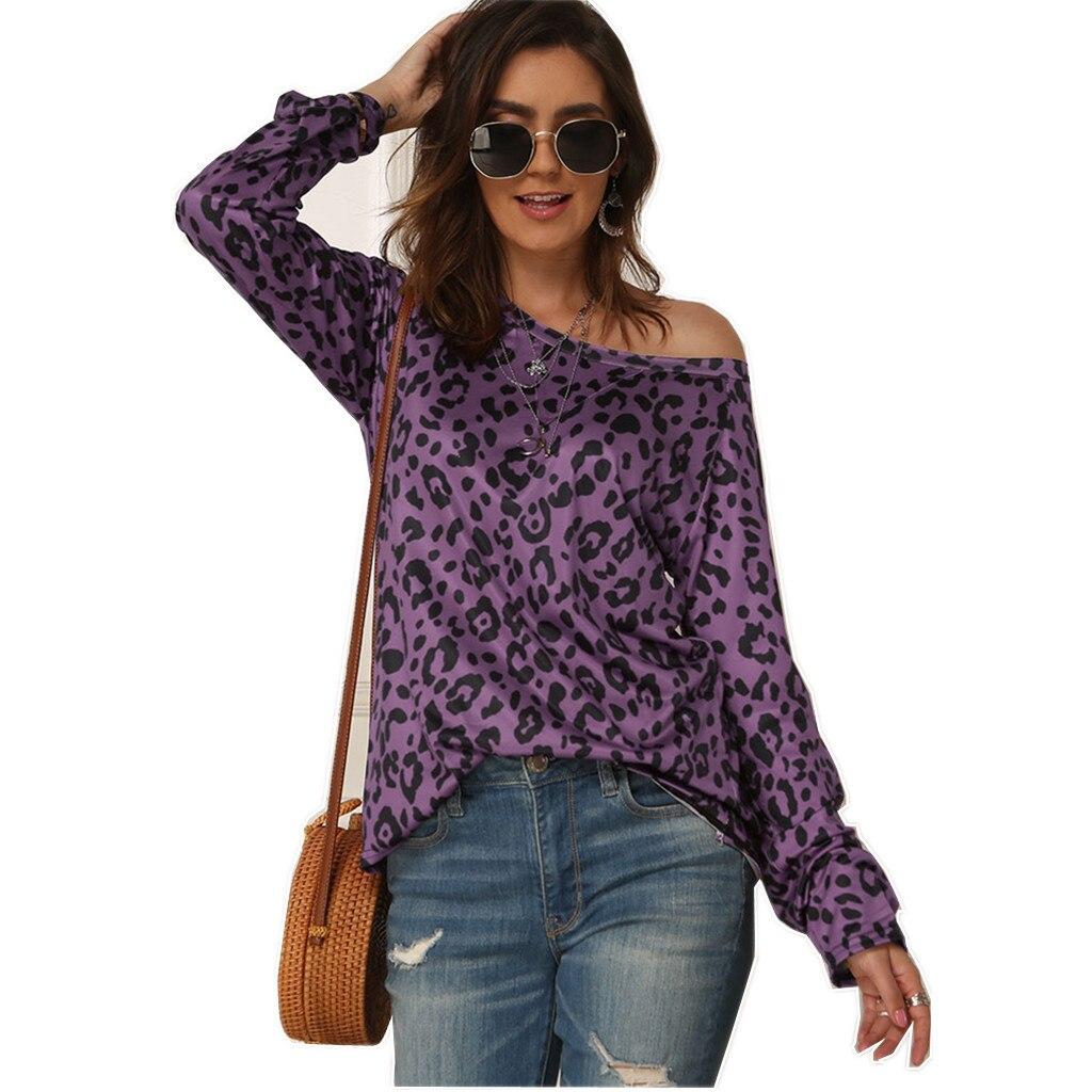 Spring / Summer 2020 Hot Sale Long Sleeve Print Off-Shoulder Women