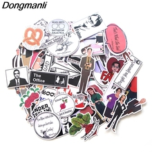 L3534 Dongmanli 46pcs/set The Office Sticker Decal for Graffiti Car Covers Skateboard Snowboard Luggage Guitar Laptop