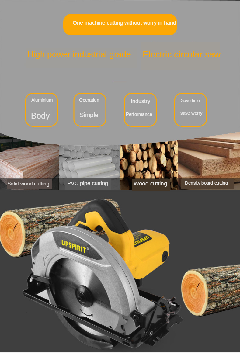 H7a9c0d77706d45028043e7e94da28d022 - LIVTER HK-CS23501 9 inch High finish cutting surface wood saw  machine for wood ripping
