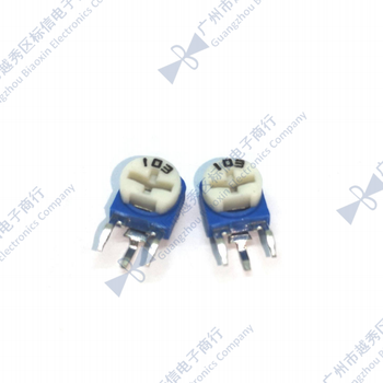 RM063 WH06-1A 10K 20K 50K ohm vertical Adjustable Vertical Trimpot Resistor potentiometer (Only accept min order 500PCS) image