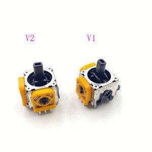 Image 4 - 10 pièces jaune Original 3D Joystick axe Modulo Sensore Analogico pour Playstation 4 PS4 manette
