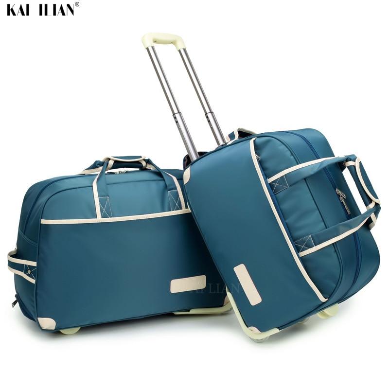 Suitcase weekend bag Waterproof Luggage big bag Rolling Luggage Trolley bag Luggage Lady Travel suitcase with Wheels carry on